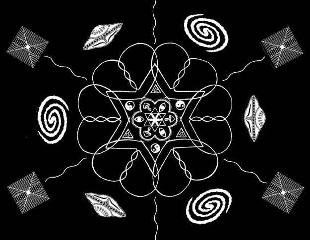 Original Intended Blueprint of The Human Species - 12 DnA Strand Cosmic Mandala