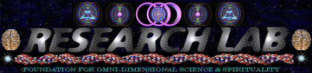 Research Laboratory Departments for The Foundation for Omni-Dimensional Science & Spirituality