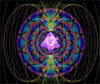 Merkaba Surrounded by Bio-Electromagnetic Energy Field